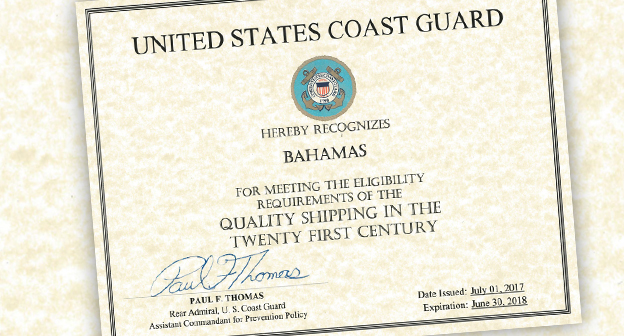 The Bahamas awarded Qualship 21