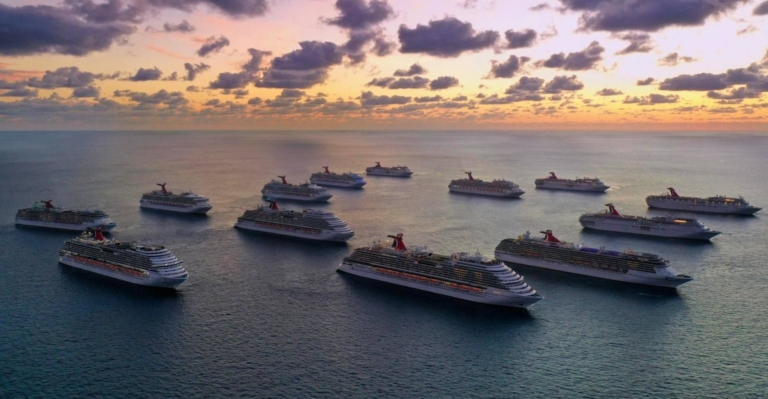 CRUISE Carnival fleet off Bahamas for crew repatriation