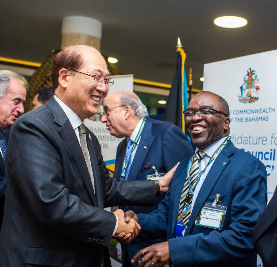 Re-elected IMO Council