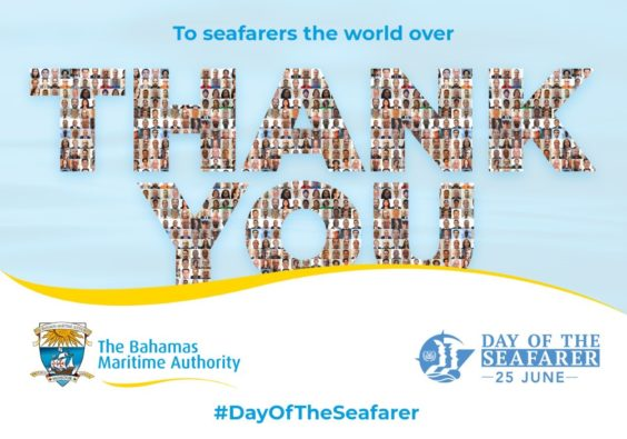 BMA Thank You Seafarers