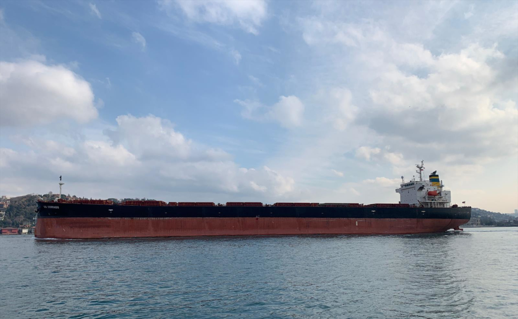 Bahamas Registered Bulk Carrier - Corrado