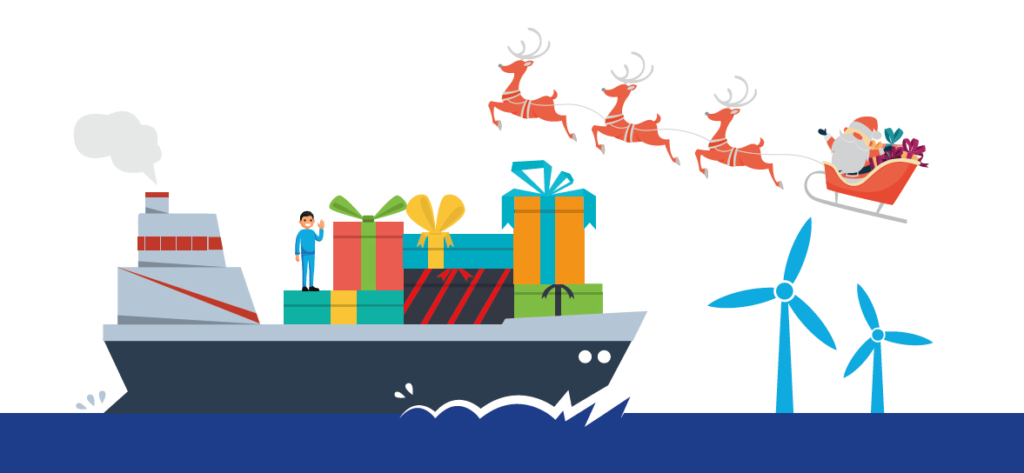 The BMA support ICS Support for seafarers Christmas